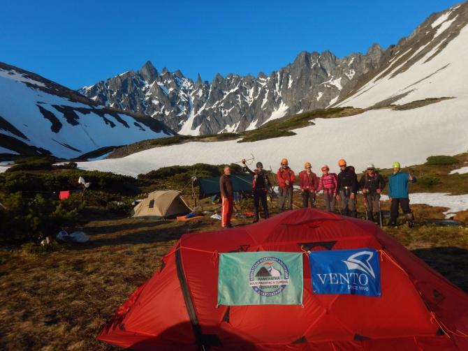 """Камчатская Федерация альпинизма и скалолазания протестировала снаряжение фирмы """"Венто"""" ()"""