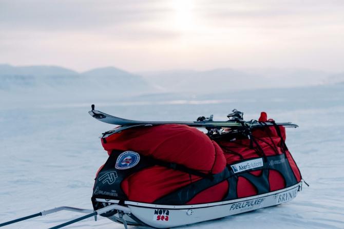 Пoxoд с санями-волокушами. Где найти сани в России? (Туризм, северный полюс, южный полюс)