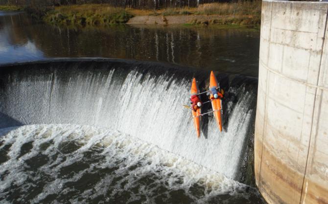 6B эффектно закрывает водный сезон! (Вода, whitewater, сплав, водный туризм, рафтинг)