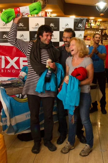 Поздравляем команду ФАиС г. Москвы Шейнова Андрея и Дмитриевскую Татьяну с победой в 5-м этапе Кубка Испании в 12-ти часовом альпинистском марафоне «12 h de escalada en el Rally Peñon de Ifach»