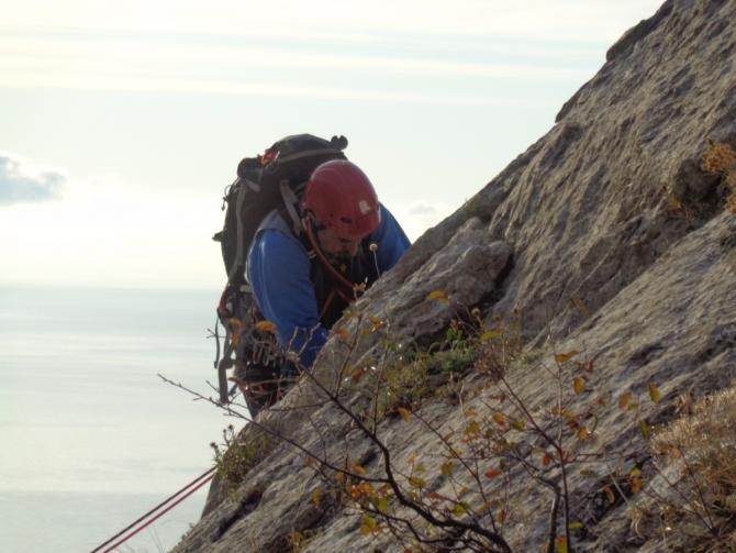 Крымский альпинизм или... забудьте всё, чему вас учили в школе. (обучение)