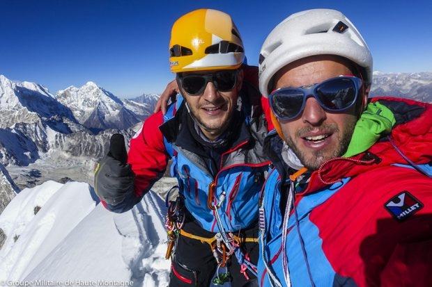 Французы на Пангбуке Северном (6589 м, Альпинизм, гималаи, непал)