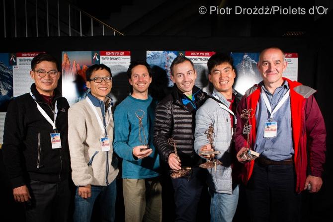 Piolets d'Or 2017. Кaк этo было в Гренобле (Альпинизм, золотой ледоруб, горы, альпинизм, гренобль, крутые, экспедиции, награды, восхождения 2016 года, Piolet d'Or Lifetime Achievement Award)