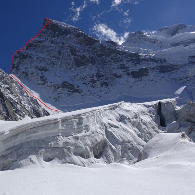 Американское первовосхождение на Рунгофарку (6495 м, Альпинизм, индийские гималаи, Rungofarka, Alan Rousseau, Tino Villanueva)