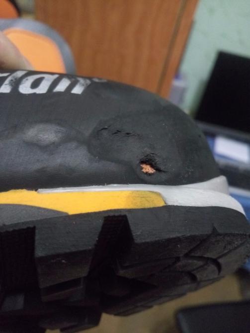 Как починить рант в ботинке