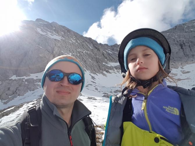 Grosser Priel, Австрийские Альпы с девочкой 7 лет. (Альпинизм, Верхняя Австрия)