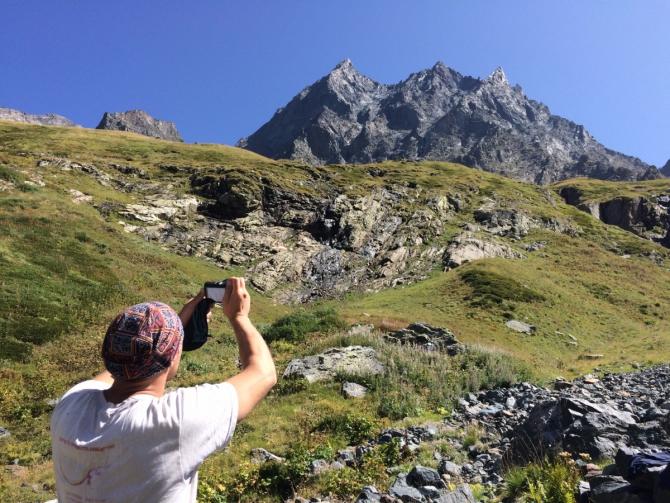 Пробит спуск с Вершины Западный Домбай Ульген (Альпинизм)