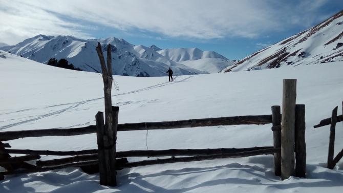 Как рождаются новые ски-турные маршруты. (теберда, домбай, Мухинское ущелье, новый маршрут)