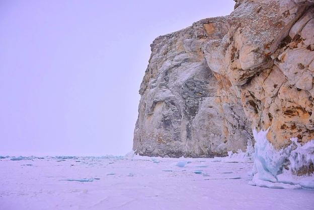 Не на коньках по льду Байкала, или о чем молчат отчеты! (Туризм, коньки, туризм, лед)