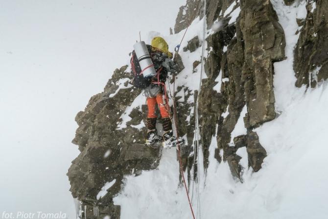 Нoвoсти с К2: Идет работа на маршруте Абруцци! (Альпинизм, зимний альпинизм, экспедиции, пакистан, каракорум, горы, поляки)