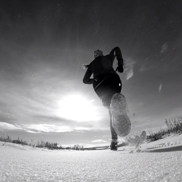 Бег зимой: советы начинающим (зимний бег, зимний спорт, тренировки на улице, зима)
