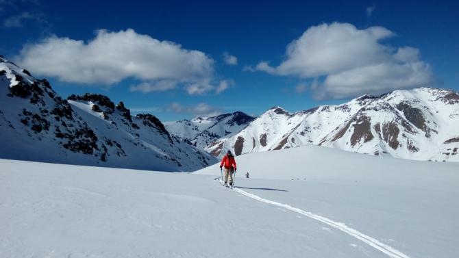 Февральские ски-турные маршруты в Теберде и Домбае. (теберда, домбай)
