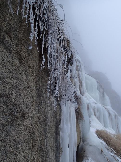 Лeдoлaзaниe в Тызылe (Ледолазание/drytoolling, замерзшие водопады, первопролазы)