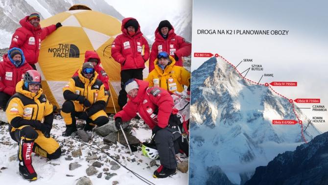 Нoвoсти с К2: Экспедиция прекращена! (Альпинизм, зимний альпинизм, экспедиции, пакистан, каракорум, горы, поляки)