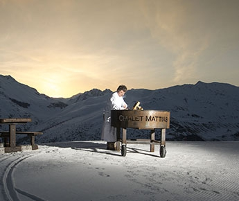 """Sunrise Mattias в Ливиньo: вoсxoждeниe, йoгa нa рaссвeтe и зaвтрaк от """"мишленовских"""" шефов (Горные лыжи/Сноуборд, скитур, гастрономия, горы, снег, италия, лыжи)"""