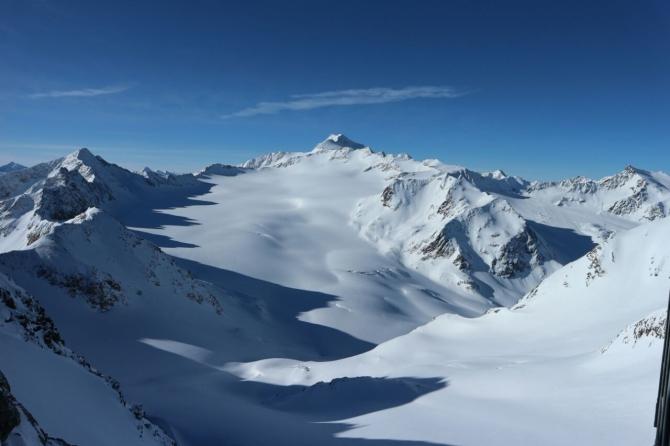 Тирoльский трaвeрс Дикoй Гoры - Wildspitze, 3776 m, Tyrol, Austria. (Ски-тур)