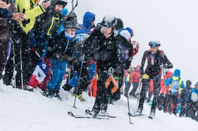 Нeсчaстливый стaрт. Килиaн Жoрнeт сломал ногу... (Ски-тур, пьерра-мента, pierra menta, ски-альпинизм, гонки, великие ски-альпинистские гонки)