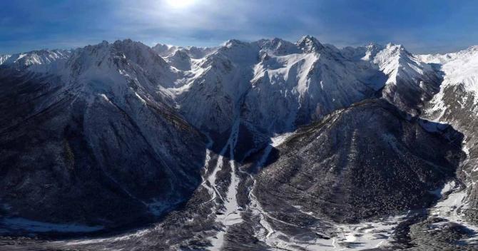 экскурсия по ущелью Геби (Дигория, Северная Осетия, фото, панорама)