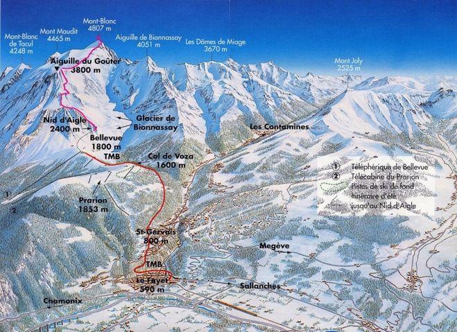 Что там в Европе насчёт общедоступности гор и высотного альпинизма? (монблан, оборудование)