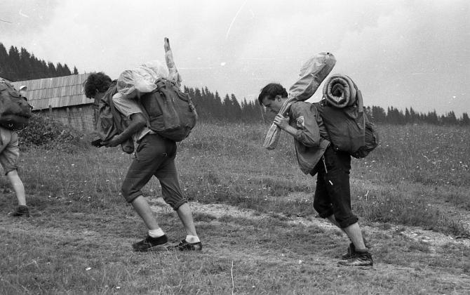 Самый-самый первый в жизни поход. Как это было примерно 45лет тому... (Туризм)