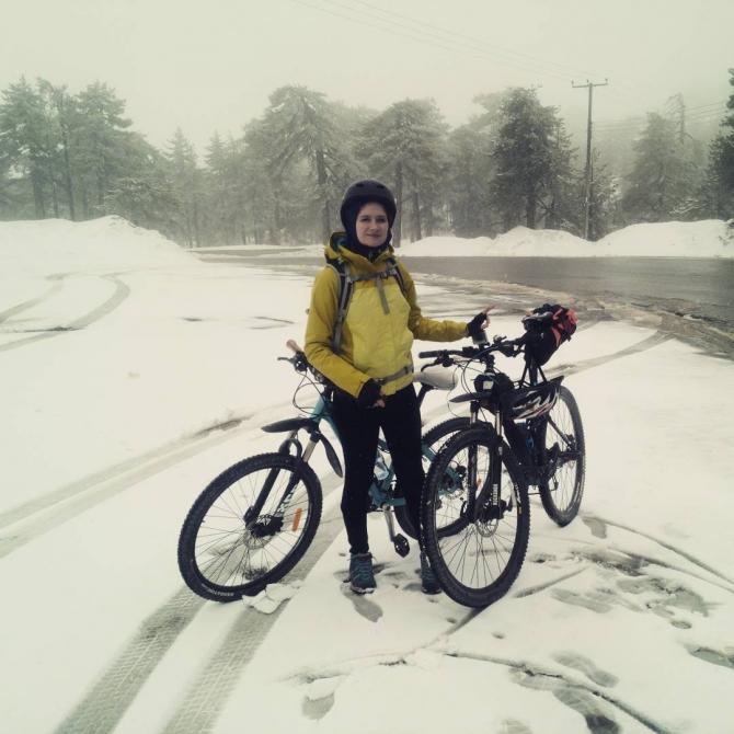 На велосипеде зимой: советы начинающим (велосипед зимой, зимний велосипед, зима, зимний спорт, тренировка на улице, спорт, ликбез)