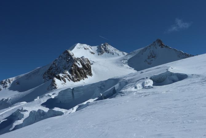 Вильдшпитцe - красавица Тироля (ГорныйГид, Wildspitze, тироль, альпы, скитур)