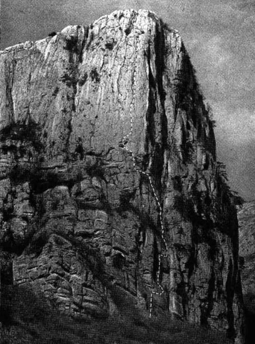 Факел Прошлой осенью, или малоизвестный Крым в Золотую осень! (Альпинизм, Сюрюю-Кая, первопроход, пугачев, лапшин, Большой каньон)