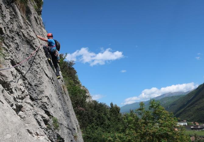 Фотоотчёт о курсе double rope в Арко (Альпинизм)