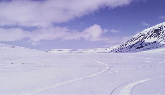 Навстречу зиме (Вело, велопоход, тундра, норвегия)