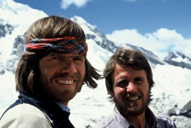 40 лет историческому восхождению Хабелера и Месснера на Эверест (Альпинизм)