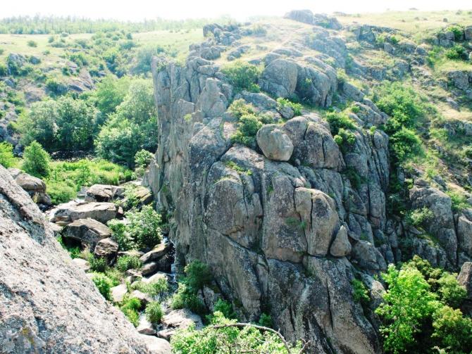 Скалы, которым 2 миллиарда лет. (Скалолазание)