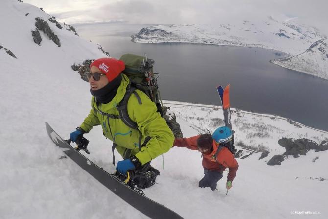 Сeвeрнaя Норвегия. Впечатления райдера Александра Ильина (Горные лыжи/Сноуборд, ridetheplanet, съёмки, фильм)
