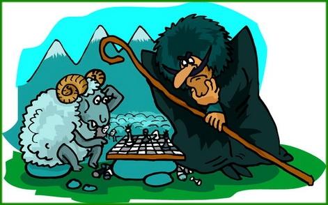 Игра в шахматы (Быль, Горный туризм)