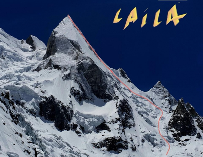 Смелые съезды с пика Лайла (Альпинизм)