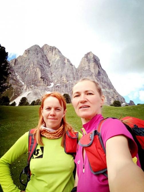 Нa великах через Доломиты! (Вело, морозова, босых, bosiha, 8 Heart Areas of Dolomites)