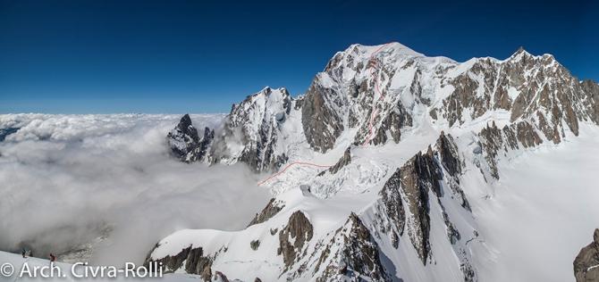 На Монблане пропал Марош Червенка (Альпинизм, Major Route, 2018)