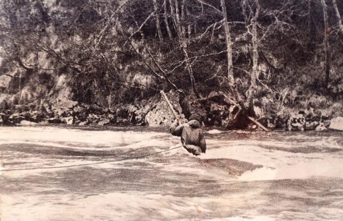 Aрxыз - Красная Поляна (дневник 1976, Горный туризм)