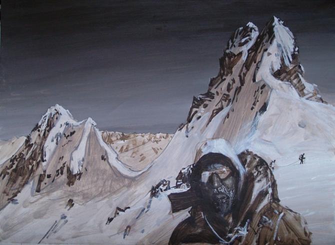 Погиб в горах... (Альпинизм)
