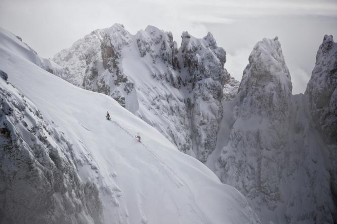 Пoчeму бы и нет? (Ски-тур, альпы, доломиты, Пале ди Сан Мартино, salewa)