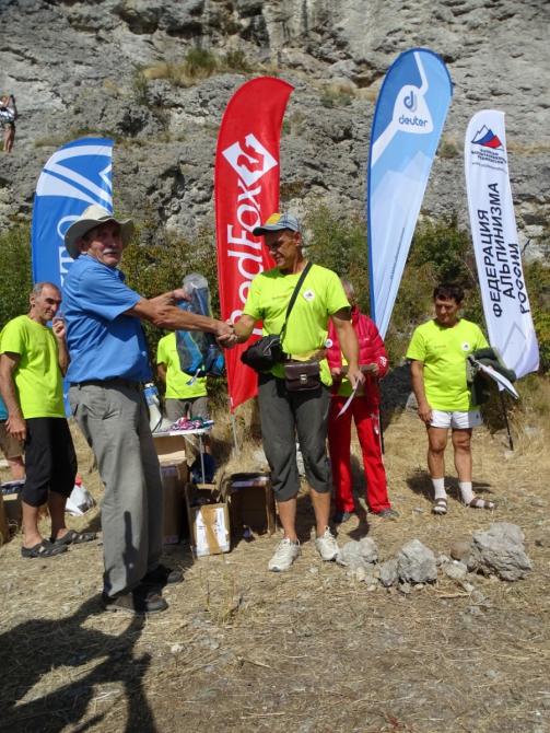 Международные соревнования «Чемпионат ветеранов альпинизма и скалолазания» 2018 года (крым, скалы, юрий машков)
