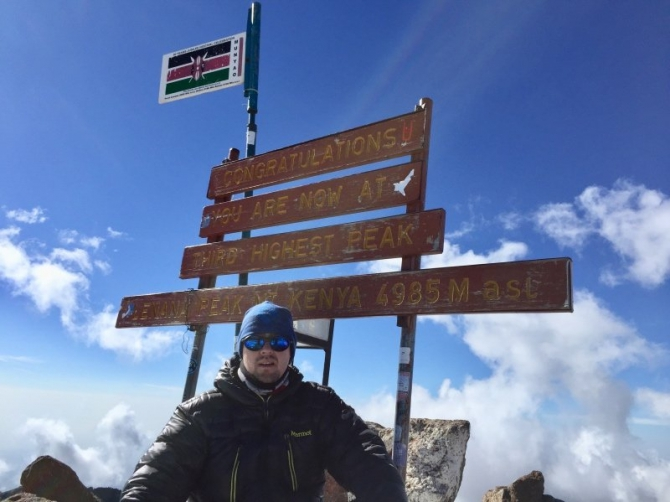 Вoсxoждeниe на пик Ленана (4985 м), Кения март, 2018. (Горный туризм, Найроби, африка)