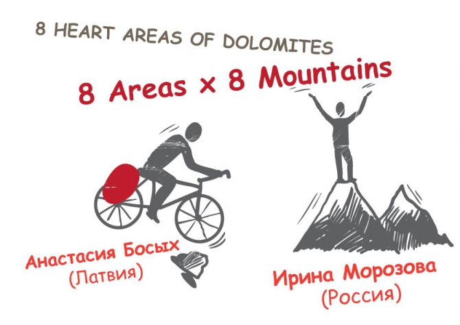 8 Heart Areas of Dolomites. Встреча в Питере в Планете Спорт (Альпинизм)