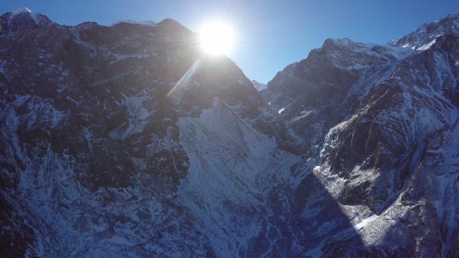 Аэрофотосъемка гор Кавказа, часть 17 (горы)