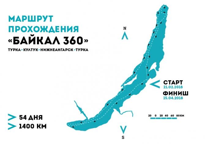 """Постпродакшн одиночной автономной экспедиции """"Байкал 360"""". 1400 км. (Путешествия, отчет)"""