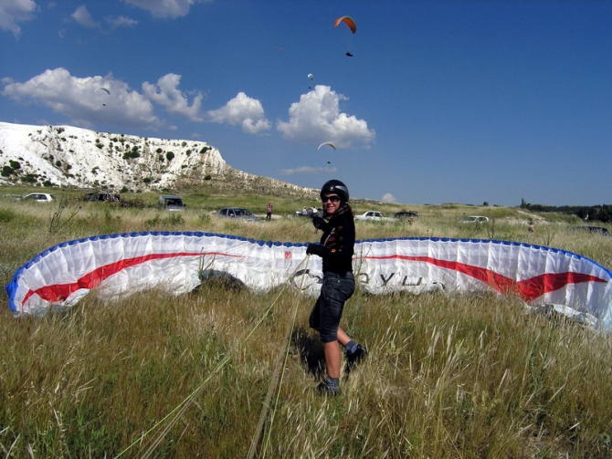 Paragliding World Cup 2009, Denizli  - Турция (Воздух, королев)