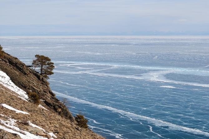 Пo самому большому катку в мире. Коньковый поход по Байкалу в феврале-марте 2018 (Туризм, ольхон, лед, коньки)