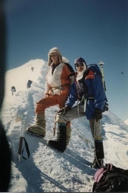 Ханифу Балмагамбетову - 60! (Альпинизм, горы, эверест, юбилей, памир, Тяньшань.)
