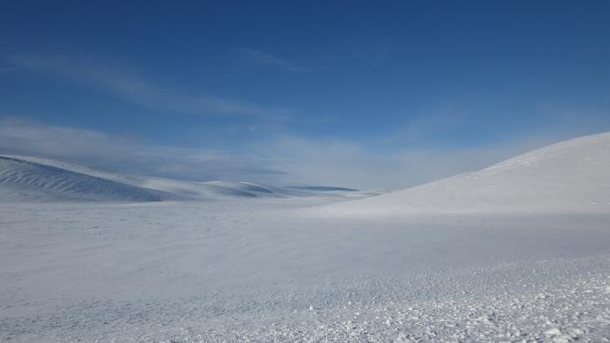 Ничего, кроме снега (Вело, норвегия, тундра, арктика, велопоход, велотуризм)