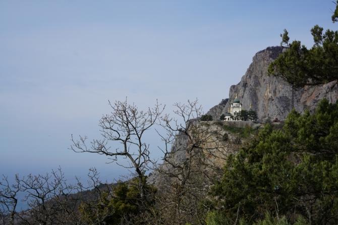 О скалолазном секторе «14-й километр» в Форосе (Альпинизм, крым)