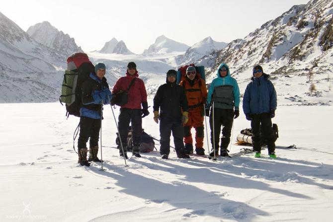 Лыжный поход пятой категории сложности по Центральному Алтаю